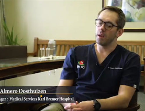 #HealthcareHighlight Dr Almero Oosthuizen steered a programme to ensure the psychological needs of staff were addressed