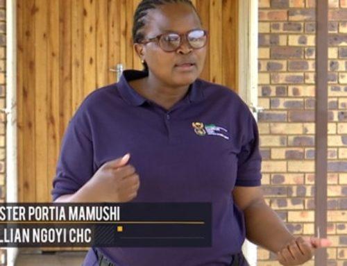 #HealthcareHeroes  – Sister Portia Mamushi surviving Covid-19 on the frontlines