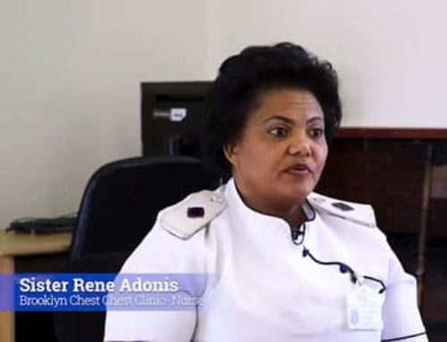 What happens when frontline staff get infected? Sister Rene Adonis shares her experience