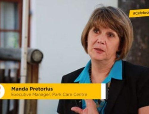 #HealthcareHeroes Manda Pretorius is the executive manager of the Park Care Centre